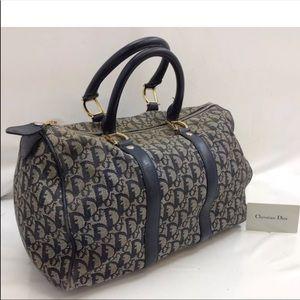 Authentic Christian Dior Boston bag